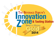 Innovation Zone and Tasting Station Best in Show Gold 2014
